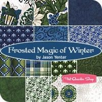 Frosted Magic of Winter Fat Quarter BundleJason Yenter for In The Beginning Fabrics
