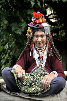 Himalaya woman.