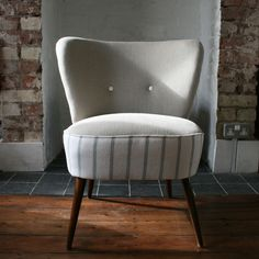 Sweet and stylish reupholstered Munich chair from Hickey and Dobson Retro Bedrooms, Retro Living Rooms, Mid Century Modern Decor, Mid Century Modern Furniture, Retro Interior Design, Cocktail Chair, Retro Furniture, Take A Seat, Retro Home