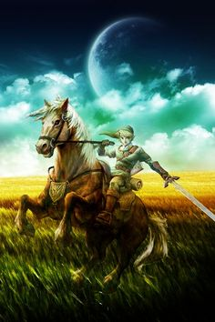 link and epona :D
