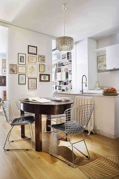 Small space for a stylish kitchen