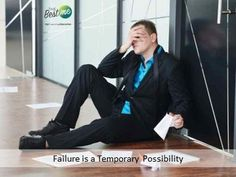 Did you know failure is a temporary possibility? Stripes, Suits, Education, Hoodies, Fashion, Moda, Sweatshirts, Fashion Styles, Fasion