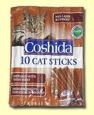 nää tikut herkkua. Kaikki Coshida tikkujen maut käyvät.