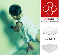 Childproof Charging Station to protect your little ones for electrical shocks!  3 PLUGS + USB Port + ON/OFF Button + Decorative FACEPLATE. More Plugs, Less Energy, Better Design!