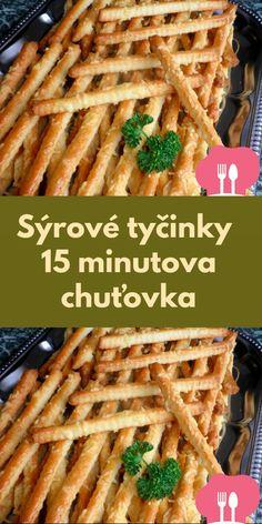 Slovak Recipes, Czech Recipes, Pizza Snacks, Cheesy Mashed Potatoes, Food Humor, Pumpkin Recipes, Holiday Treats, Food Dishes, Tapas
