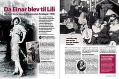 The leyend of lili Elbe. blog history