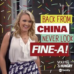 Fine China! | Young & Hungry