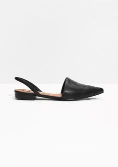 & Other Stories | Pointy Toe Sling-Backs