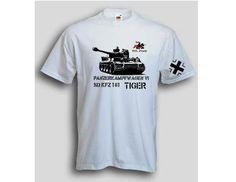 T-Shirt Tiger 505 / mehr Infos auf: www.Guntia-Militaria-Shop.de