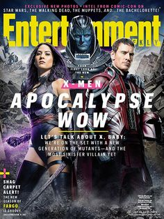 First Official Look At 'X-Men Apocalypse' Reveals Villain, 'Psylocke', 'Storm' And More — Heroic Hollywood | Comic Movies | Superhero | Movie News | Movie Reviews | Entertainment | DC | Marvel