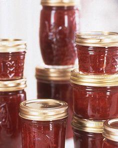 Red Raspberry Jam Recipe | Cooking | How To | Martha Stewart Recipes