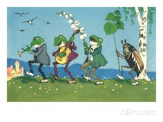 Frog and Beetle Band Posters at AllPosters.com