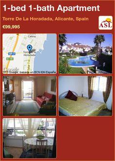 1-bed 1-bath Apartment in Torre De La Horadada, Alicante, Spain ►€99,995 #PropertyForSaleInSpain