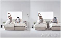 라이프스타일에 따라 유연하게 변화하는 새로운 침실 라이프