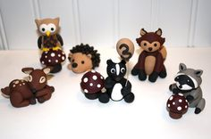 Clay Cake Toppers