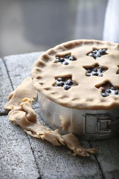 buttermilk blueberry pie for 4th of July