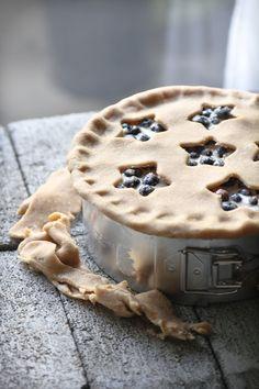 Buttermilk Blueberry Pie.
