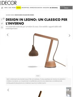 Unique In questa pagina Nest desk lamp