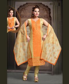 Bollywood Ethnic Pakistani Readymade Stitched Kameez Indian Salwar Suit Designer in Clothing, Shoes & Accessories, Cultural & Ethnic Clothing, India & Pakistan Indian Salwar Kameez, Churidar Suits, Bollywood, Orange Art, Indian Ethnic Wear, Sari, Model, How To Wear, Clothes