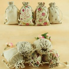 Wedding and party supplies and products for any event Wedding Favours, Wedding Gifts, Wedding Day, Burlap Wedding Decorations, Casual Wedding, Jewelry Gifts, Wedding Styles, Cotton Fabric, Pouch