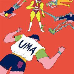 「UMA」 Wakana Yamazaki Exhibition2013 「Dystopia」