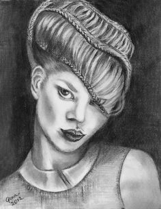 well executed drawing and very sensuous.