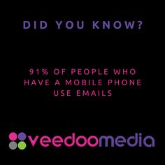 Did You Know? 🤔💬💡 . 91% of people who have a mobile phone use emails . 🥇🏆 Digital Marketing Agency Helping Small Businesses Grow Online, Innovate & Transform . 🎯 Digital Marketing 🧩 Consultancy 🛒 eCommerce 🖥 Web Design . 📈 Work With Us to Grow Your Business Online and Get Ahead of Your Competitors . 🔗 www.veedoomedia.com . Follow Us 👉 @veedoomedia 👈 to Get More Valuable Insights into Digital Marketing . . . . . #sem #digitalmarketing #onlinemarketing #internetmarketing #business… Internet Marketing, Online Marketing, Digital Marketing, Ecommerce Web Design, Growing Your Business, Small Businesses, Did You Know, Online Business, Insight