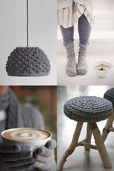 coziness in grey by the style files, via Flickr