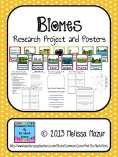 Biomes - Research Project and Posters