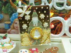Papá de paquetes regalo del árbol de navidad Galletas