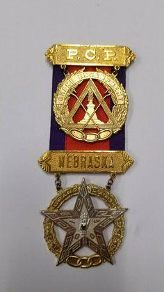 VINTAGE IOOF ODD FELLOWS Past Chief Patriarch Nebraska | eBay