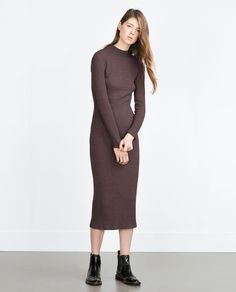 Image 1 of KNIT DRESS from Zara