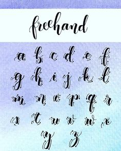 fonts for bullet journal alphabet ~ fonts for bullet journal - fonts for bullet journal hand lettering - fonts for bullet journal alphabet Cursive Alphabet, Hand Lettering Alphabet, Brush Lettering, Brush Letter Alphabet, Chalk Lettering, Letter Writing, Bullet Journal Hand Lettering, Watercolor Lettering, Lettering Styles