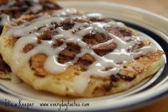 Cinnamon Rolls are my favorite dessert bread. I like this recipe because I can easily make it gluten free AND I can make one giant cinnamon roll and be done. Then I eat just one. And it's fresh and soft.