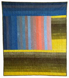 Hand-dyed quilts by Kim Eichler-Messmer.