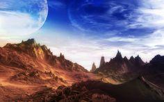 Image result for alien landscape