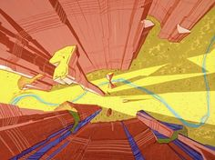 Road Runner Animation Backgrounds - http://animationbackgrounds.blogspot.com/