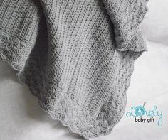 It´s very easy to make if you know all the basic crochet terms. Pattern comes with lots of photos illustrating the process to help you.Pattern can be made with sport or worsted weight yarn. The finished blanket size is about 30x30 inch (76x76 cm) when done with sport weight yarn and size 4/E crochet hook (3.5 mm ). The size of baby blanket may vary depending on the size of hook and yarn you use. You can sell your finished items made from this pattern as long as you give me credit for the...