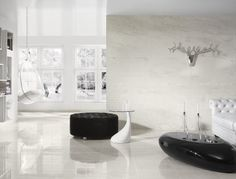 Calacatta by My Way offers a faithful reproduction of the natural stone.
