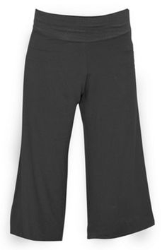 Loose and Flowing Yoga Pants from Kosher Casual. $20. Available in Balck.