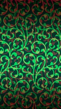 Plant Pattern iPhone wallpaper