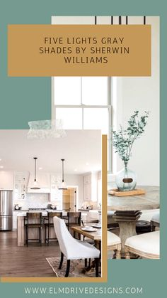 Five Shades of Light Gray by Sherwin-Williams: Cool and Warm Undertones - Elm Drive Designs Paint Colors For Home, Interior Wall Colors, Home, Light Grey Paint Colors, Light Grey, Big Houses Interior, Interior, House Colors, Sherwin Williams Paint Colors
