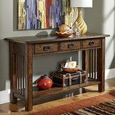 Found it at Wayfair - Canyon II Console Table