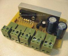 Foto del amplificador montado Amplificador 12v, Mixer, Music Instruments, Diy, Mario, German, Car Audio, Electronic Circuit, Circuits