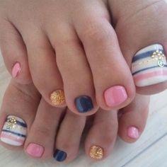 summer/beach nails