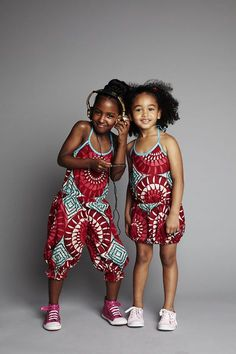 Street Style Of The Day- Children In Ankara/African Prints Styles – FashionGHANA.com: 100% African Fashion