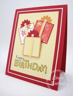 birthday card by jeannine