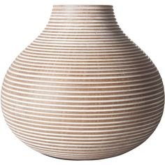 """Columbo Gourd Vase - 7.75"""" (€25) ❤ liked on Polyvore featuring home, home decor, vases, vase, decorative accents and gourd vase"""