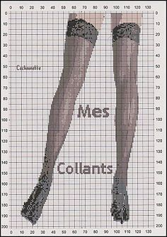 point de croix collants, bas - cross stitch stockings Hama Beads Patterns, Beading Patterns, Embroidery Needles, Cross Stitch Embroidery, Cross Stitch Charts, Cross Stitch Patterns, Petite Lingerie, Victorian Women, Cross Stitching