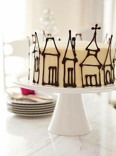 Pretty Cakes, Beautiful Cakes, Amazing Cakes, Cake Cookies, Cupcake Cakes, Shoe Cakes, Baking Cupcakes, Bolos Naked Cake, Bolo Halloween